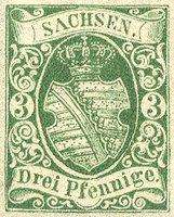 Nachdruck des Probedrucks der Nr. 2 in Grün